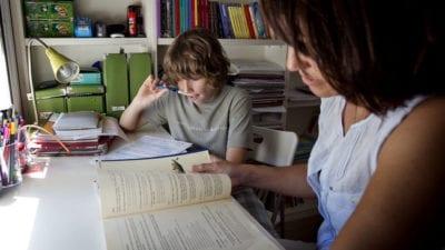 Fotografía de Pere Tordera - Niños con dislexia